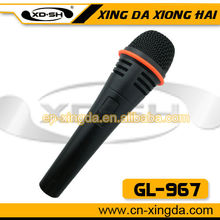 GL-967 2012 Best sell wired karaoke microphone