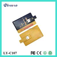 Oem logo blank card usb flash memory card price,custom credit card usb flash