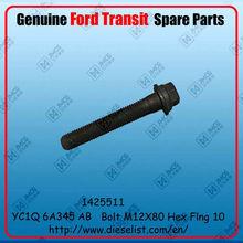 Genuine Transit V348 spare parts YC1Q 6A345 AB Bolt M12X80 Finish:1425511