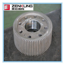 customized stainless steel 304 straight teeth external gear wheel