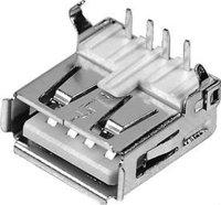 micro usb connector / 4 pin usb connector USB-4AR