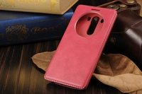 leather case for lg g3 stylus,for lg g3 quick circle case