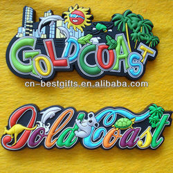 2015 Strong and Permanent Animal Prints Popular Soft PVC Fridge Magnets