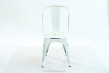 Atacado mobília da sala de jantar de café antigo cadeira de metal cadeira