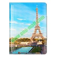wholesale Flip Leather one direction cover case / for ipad air with 3 Gears Holder