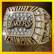 custom design jewelry AAA CZ inlaid classical lakers championshp ring