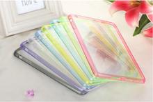 Transparent Cover PC+TPU Colorful Case for ipad mini 2/ipad mini retina Protector Frame Matte Back Cover