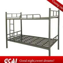 Cheap iron bunk bed design dormitory contemporary bed