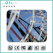 Electro Galvanized Razor Barbed Wire for Military/Air Port Blade Wire