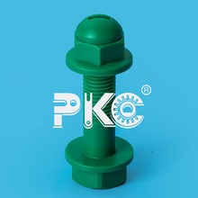 High precison Mould injected OEM plastic nylon Screw and Nut Series Manufacturer best quality low price