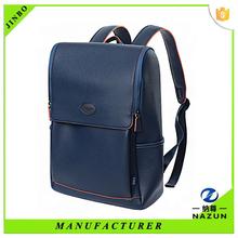 Custom unisex fashion designer leather backpack travel bag
