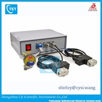 Automatic Pressure Controller with Dual Solenoid Valves and Gauge, 1E-4 - 1E3 Torr, 1/4 NPT(F) - EQ-KJF-2V