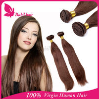 No shedding unprocessed mink-brazilian-hair virgin organic hair dark brown hair color pictures