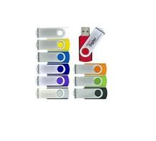 Swivel USB Flash Drive 1GB USB 2.0 Flash MEMORY U disk usb driver real 1GB in box 30pcs