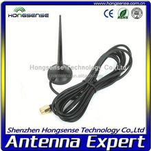 [2015 newest]gsm 3g huawei module antenna3g/gsm magnetic antenna with SMA/CRC9/TS-9 connector