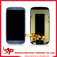 Original Genuine OEM White Full LCD AND Touch Screen Digitizer Assembly Flex Cable For Samsung Galaxy S3 i9300 Verizon