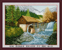 2014 TOP Sell Beautiful Scenery Diy Diamond Painting With Miss As Water Tankers For Handmade Canvas Home