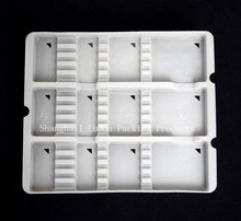 plastic dessert/cookie/chocolate packing tray, PP blister tray