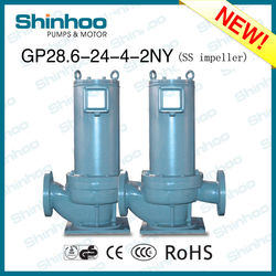 (GP28.6-24-4-2NY) STAINLESS STEEL IMPELLER HOT AND COLD CIRCULATION PUMP FOR AIR CONDITIONING