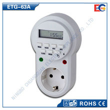 Germany weekly digital timer switch with LCD display