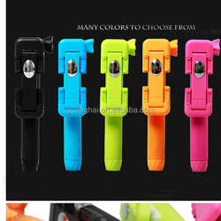 Wired Selfie Stick Handheld Monopod Built-in Shutter Pau De Self Stick Cellphone Holder for Apple iPhone Samsung mini