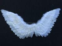 90*55cm handmade angel wings with silver lurex