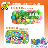 Funny paradise plastic ball colorfull swimming pool for kids playing