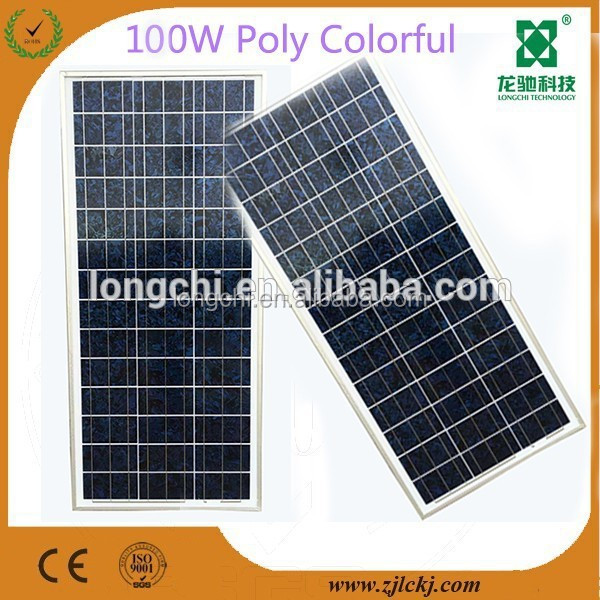 100W poly solar panel-1
