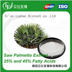 Saw Palmetto P.E Fatty Acid Powder,Best Price Saw Palmetto Extract