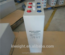 2v 2000ah Solar Battery Hot OPZV Battery For Solar and W ind System