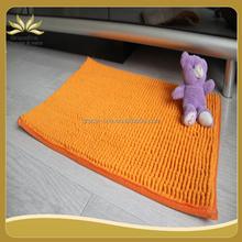 fashionable chenille mat floor protection mat