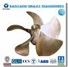 5 Blades Marine bronze propeller / Vessel Bronze propeller