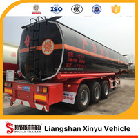 Top ranking oil tanker trailer standard oil tank size
