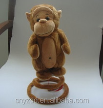 plush jumping monkey/ good gifts in monkey year
