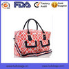 Beautiful printing travel bag for women fashion canvas travel bag 2015