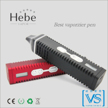 All match black and red e-pipe, Hebe Titan-2 classical vaporizer, always in vogue