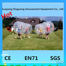 All kinds of color inflatable body zorbing equipments bumper pool balls