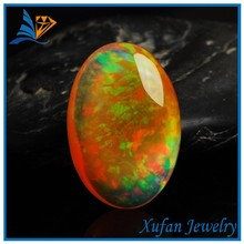 Ethiopian welo polishing oval shape synthetic opal rough for sale
