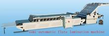 semi- automatic flute lamination machine; dongguang dongao carton machinery co.,ltd
