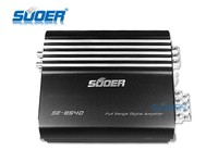 Suoer factory price professional power car amplifier full range digital amplifier