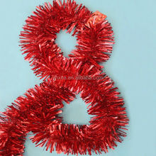 High End Outdoor Christmas Decorations/Party/Birthday Tinsel Garland