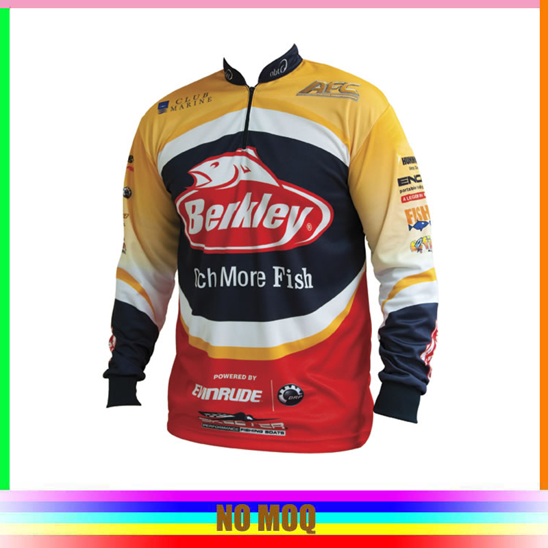 cheap custom sublimated fishing shirt tournament fishing