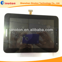 wholesale lcd display touch digitizer screen front panel assembly for Samsung Galaxy Tab P6200