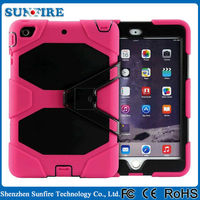 Top Quality Rugged Heavy Duty 7 Inch Tablet Silicon Case With Fashion Stand