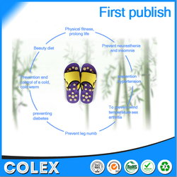Shenzhen factory high quality vibrating massage shoes,rubber slippers,massage slipper acupuncture shoes