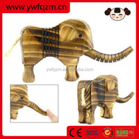 hand carved wooden elephant animal wood carving