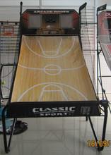 "1"" Steel Tube Foldable Basketball Frame For Game w/ Backboard and Ball Return"