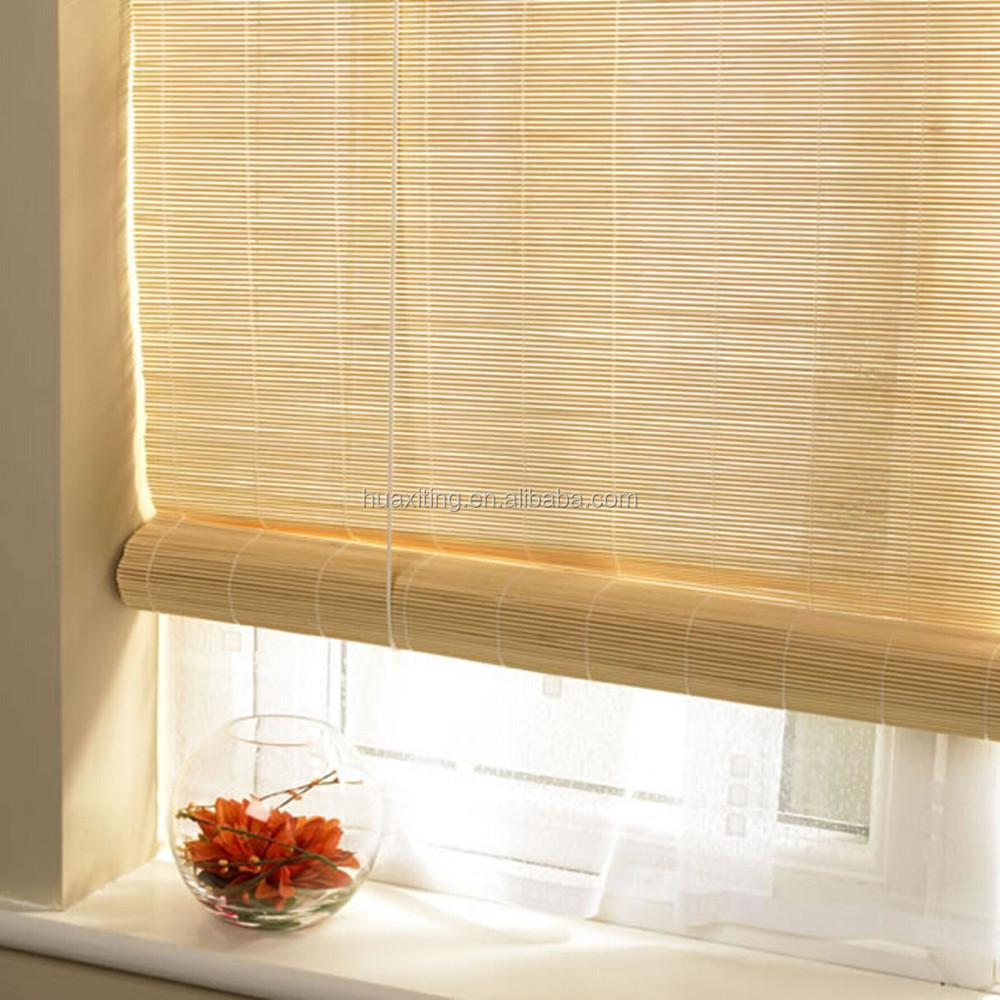 Bamboo Matchstick Window Roll Up Blind Shade Match Stick