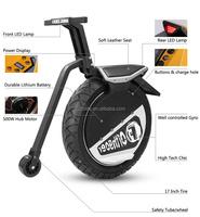 2015 Yongkang Mototec New Design Electric powered One Wheel Motorcycle 500w