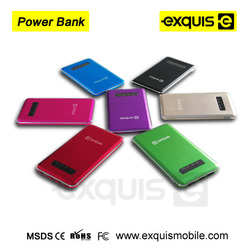 2015 new portable mobile power bank 5000 mah polymer power bank universal power bank 5000mah